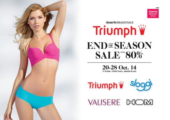 "Amarin Brand Sale ""Triumph End of Season sale"""