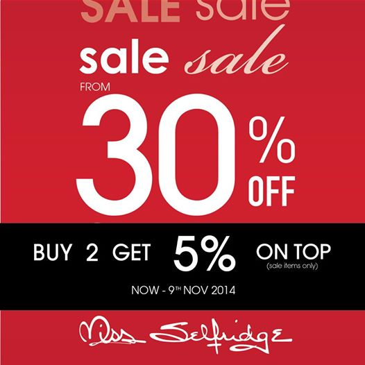 Miss Selfridge mid-season SALE