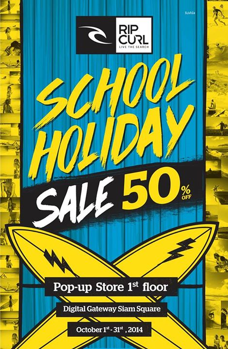 Rip Curl School Holiday Sale