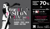 WORLD FASHION CAPITAL 2014