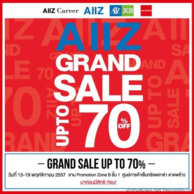 AIIZ Grand Sale @ เซ็นทรัล ลาดพร้าว (13 - 19 พ.ย.57)