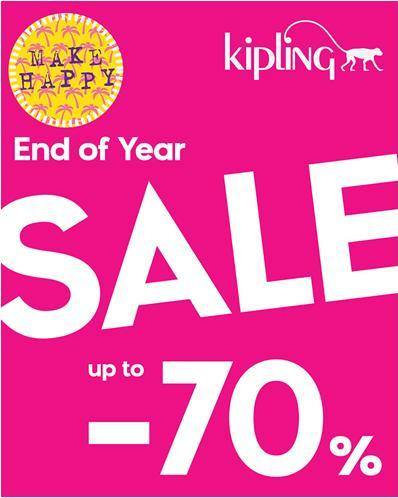 Kipling End Of Year Sale