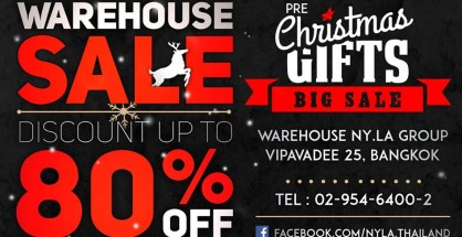 NYLA WAREHOUSE SALE