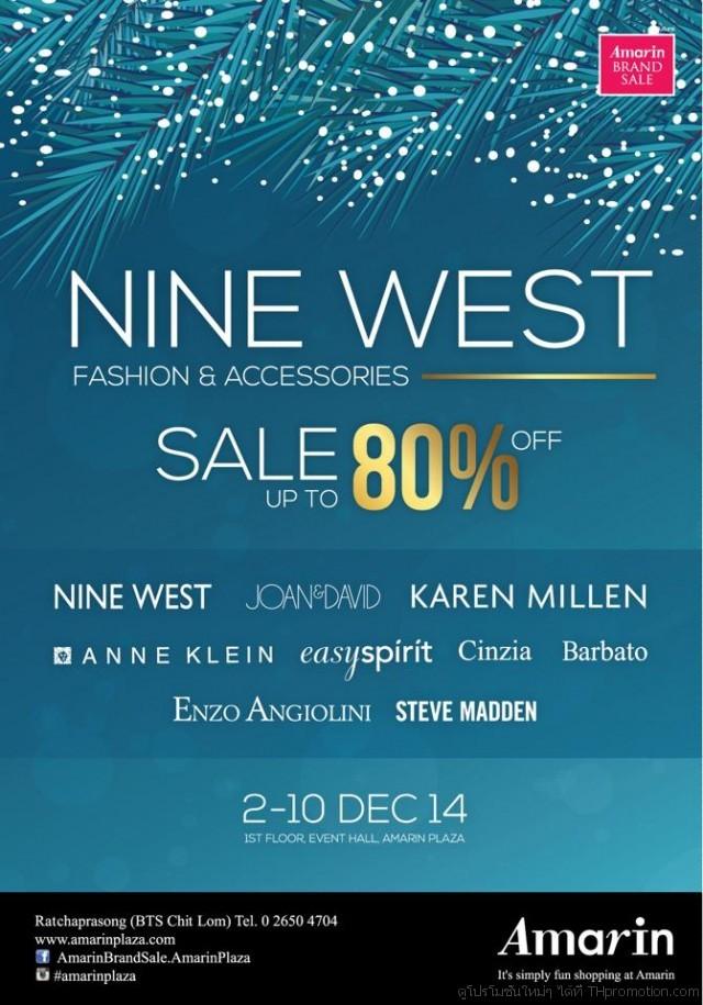 "Amarin Brand Sale ""NineWest Fashion& Accessories Sale"""