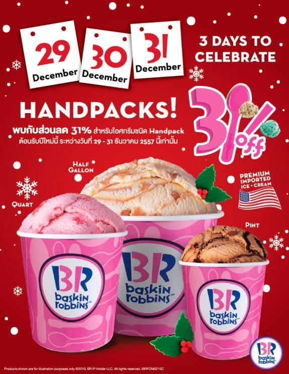 Baskin Robbins Handpack