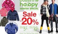 Bossini winter sale