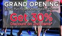 New Balance Grand Opening
