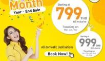 Nok Air Magic Month Year - End Sale