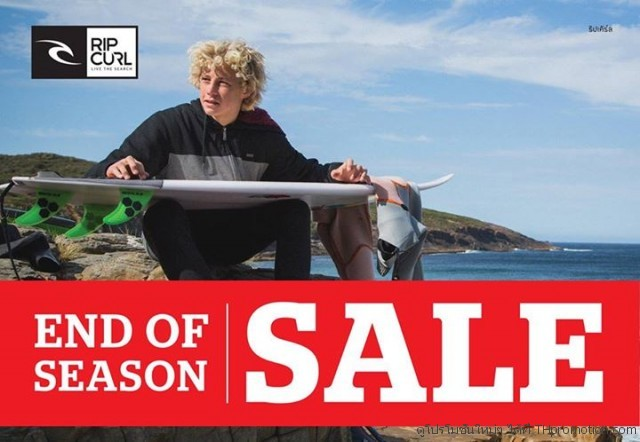 RIP CURL END OF SEASON SALE