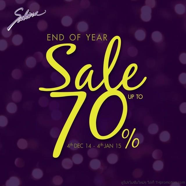 Sabina End of Year Sale