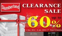 Slumberland Clearance Sale