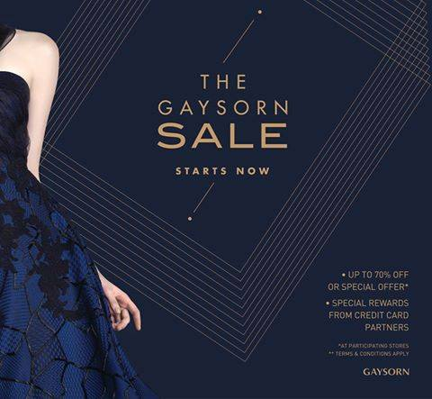 The Gaysorn Sale