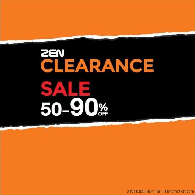 ZEN Clearance Sale