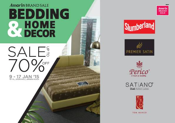 "Amarin Brand Sale ""Bedding & Home Decor"""