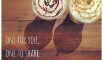Starbucks One for you, One to share