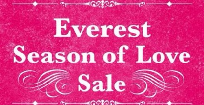 Everest Season of Love Sale