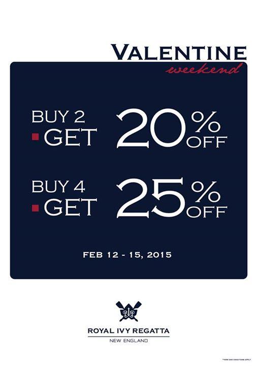 """Royal Ivy Regatta """"Valentine's Weekend"""""""