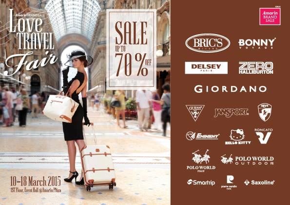 Amarin Brand Sale- Love Travel Fair 2015 1
