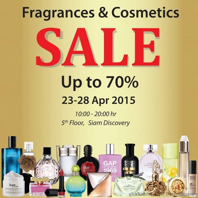 Fragrance & Cosmetics Sale