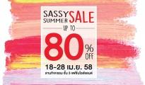 SASSY SUMMER SALE