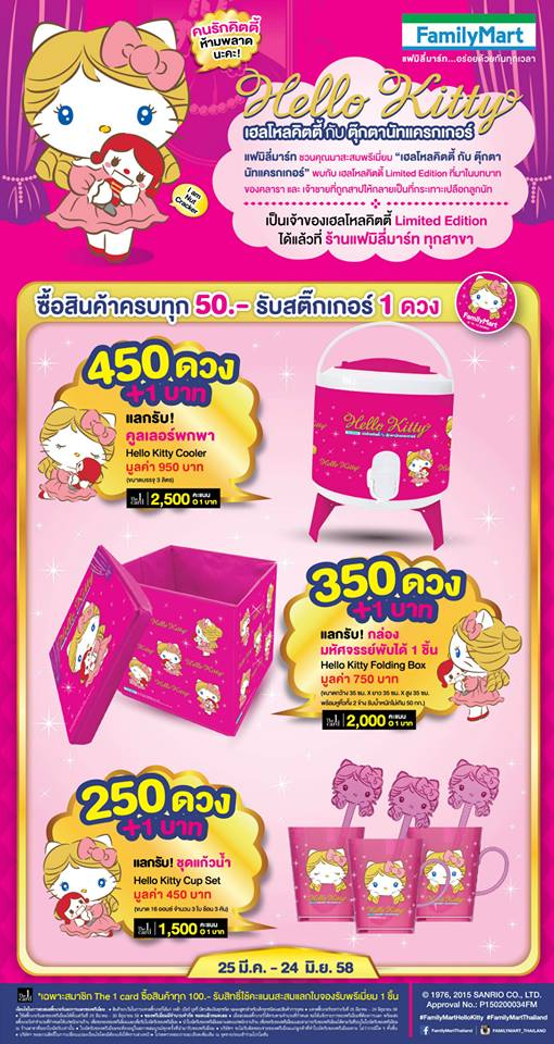familymart hello kitty 1