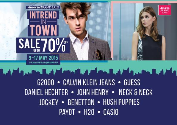 Amarin Brand Sale; In Trend In Town