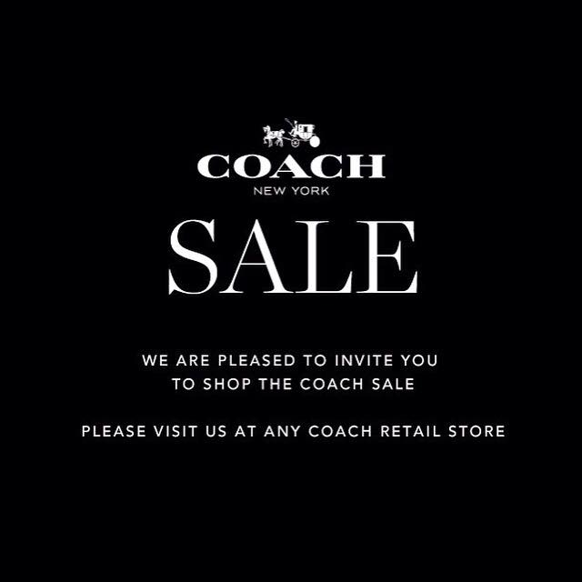 COACH End of Season Sale