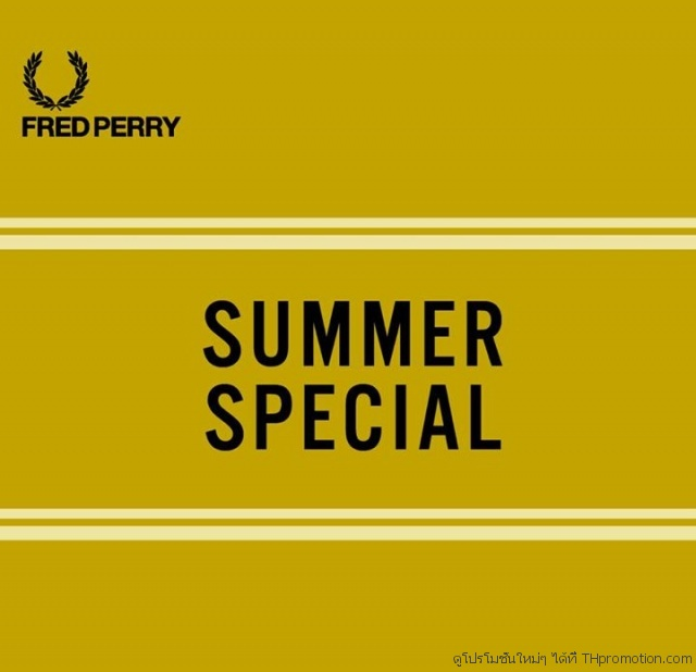 Fred Perry Summer Special
