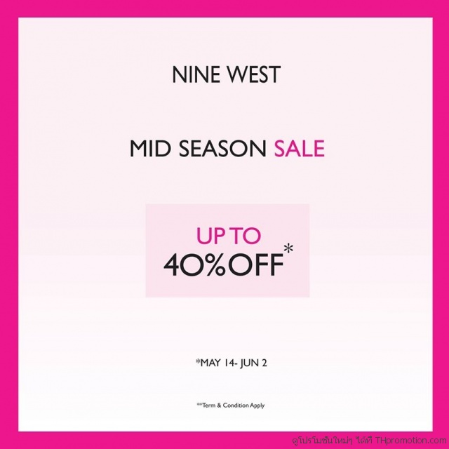 Nine West Mid Season Sale