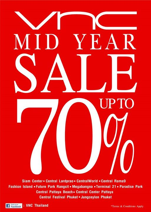 VNC Mid Year Sale 2015