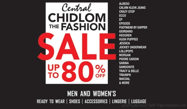 Central Chidlom The Fashion Sale