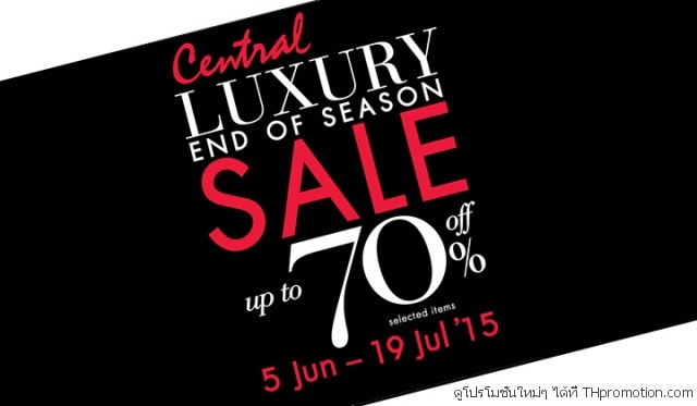 Central Luxury End of Season Sale