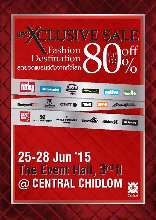 SFG Xclusive Sale Fashion Destination