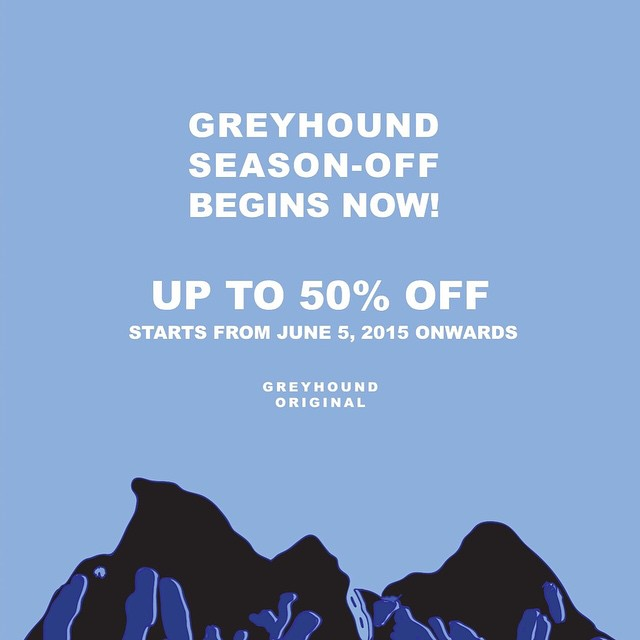 Greyhound season-off sale