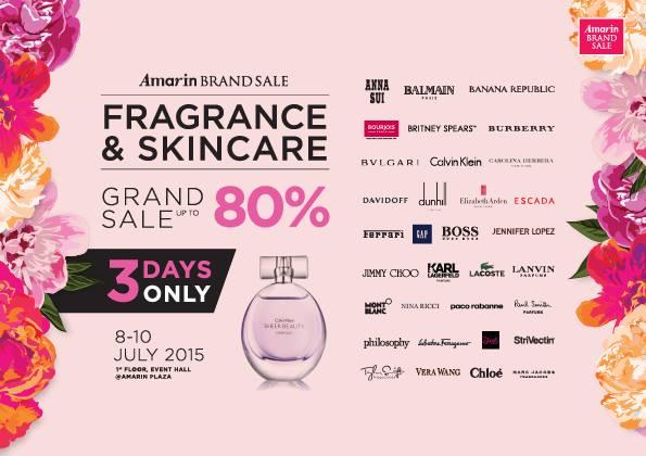 Amarin Brand Sale - Fragrance & Skincare Sale
