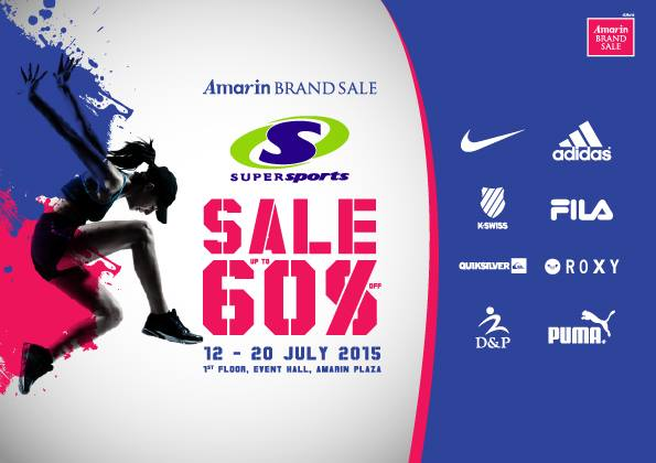 "Amarin brand Sale ""Supersports Sale"""