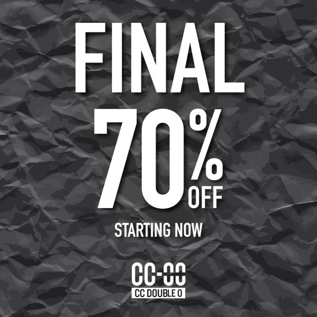 CC Double O FINAL Sale