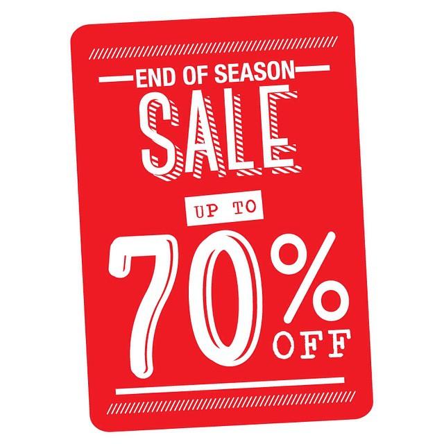 Workshop End of Season Sale