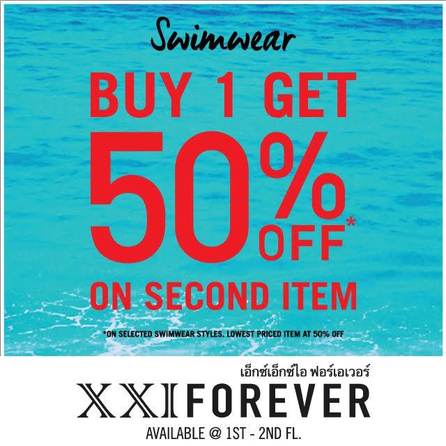 xxi forever swimwear
