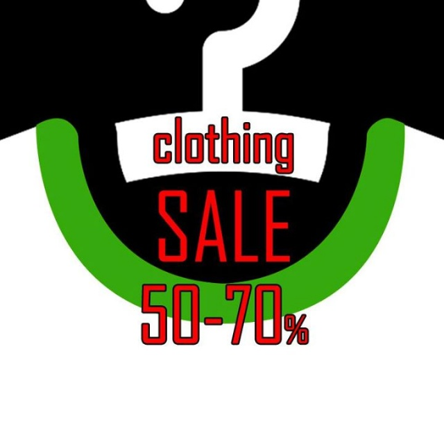YEAH! Clothing Sale