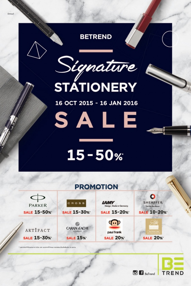 BETREND SIGNATURE STATIONERY 2015