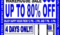 Greyhound Warehouse Sale