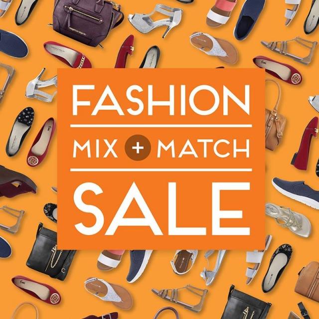 Payless ShoeSource Mix & Match Sale