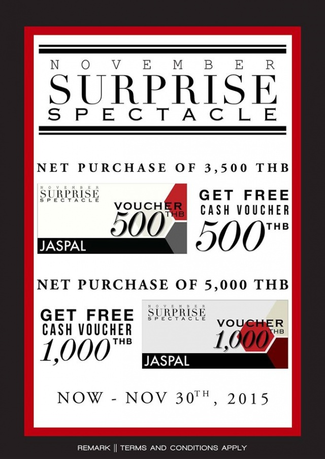JASPAL November Surprise Spectacle