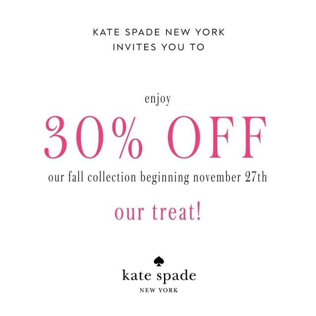 Kate Spade End of Season Sale