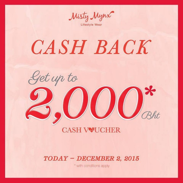 Misty Mynx Cash Back