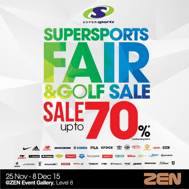 Supersports Fair & Golf Sale