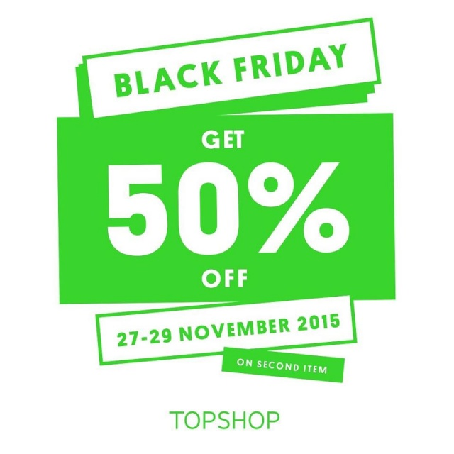 TOPSHOP - TOPMAN Black Friday