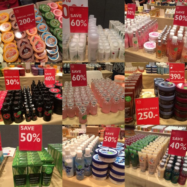 "The Body Shop ""The Biggest Warehouse Sale"" 1"