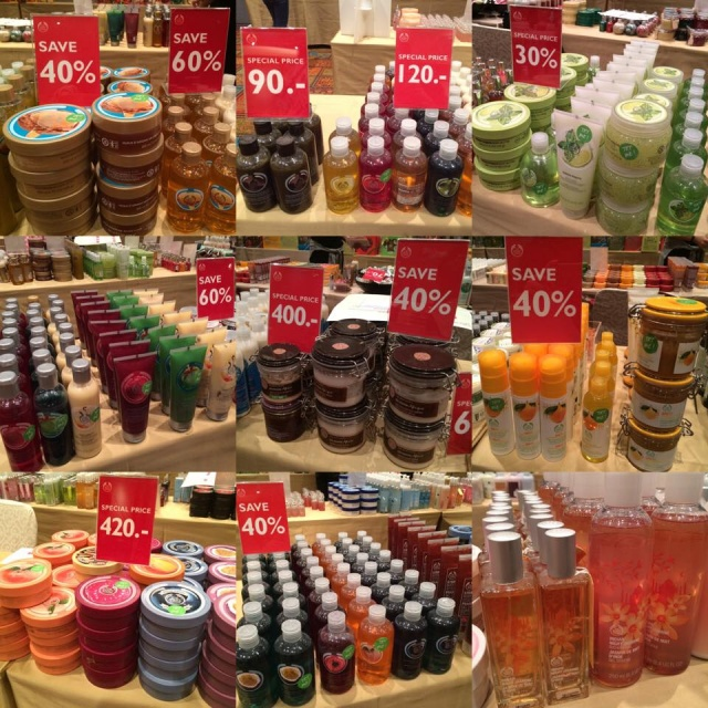 "The Body Shop ""The Biggest Warehouse Sale"" 2"